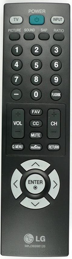 LG MKJ36998126 Original Remote Control (NEW)
